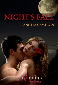 cover art for Night's Fall by Angela Cameron